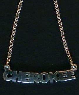 Cherokee Necklace