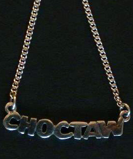 Jim Morris Choctaw Necklace