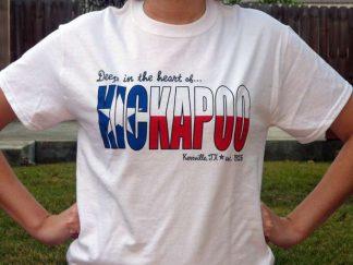 Kickapoo Texas Flat Tshirt